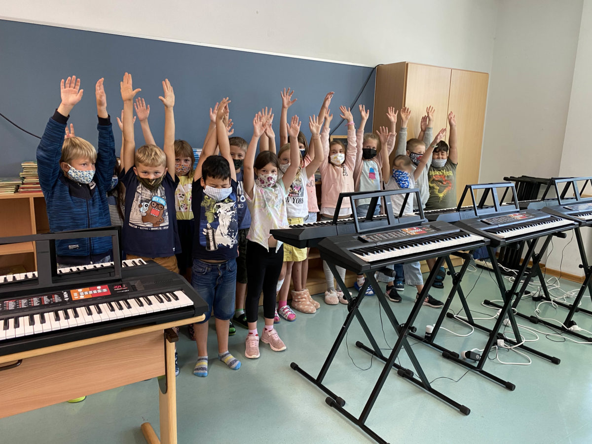 Keyboardklasse Viereth